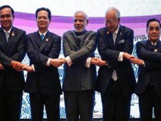प्रजासत्ताक दिनाच्या कार्यक्रमात१० दक्षिण-पूर्व आशियाई देशांच्या प्रमुखांचीमांदियाळी